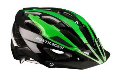 Bontrager Quantum Helm L Hot Green/Schwarz