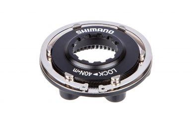 Shimano I-SMRTAD10 Bremsscheibenadapter 6-Loch Bremsscheibe auf Center Lock Nabe