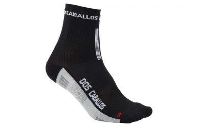 Dos Caballos Meryl Carbon Socken für MTB und RR geeignet Black