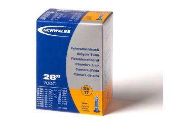 "Schwalbe DV17 Schlauch 28"" Blitzventil/ Dunlopventil long, 40 mm"