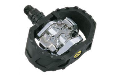Shimano PD-M424 SPD MTB Klick/Plattformpedal inkl. Cleats Kunststoffkäfig
