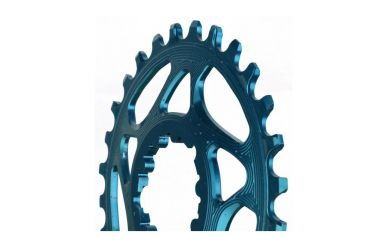 Race Face Chainring Single Narrow Wide 104x34 Blau