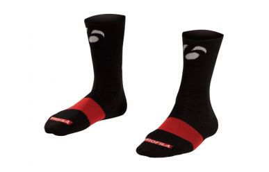 "Bontrager Race 5"" Wool Sock Black 40-42 M"