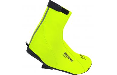 Gore Road Windstopper Soft Shell Thermo warme Wetterschutz Überschuhe Neon Yellow