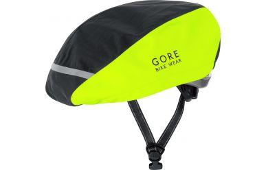 Gore UNIVERSAL Neon GORE-TEX Helmüberzug black/neon yellow, 60-64