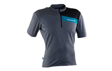 Race Face PODIUM JERSEY SS CHARCOAL/TURQUOISE L
