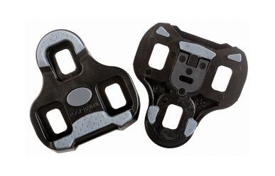 Look Keo Grip Pedalplatten mit Gummipads Schwarz 0 Grad Auslösewinkel