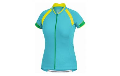 Gore Power 2.0 Women Trikot Turquoise Fresh Green