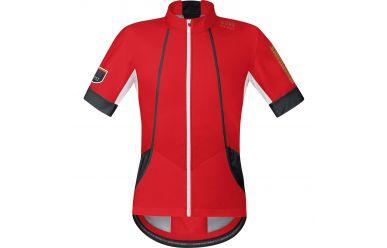 Gore OXYGEN Windstopper Soft Shell Trikot, men, red/black,M