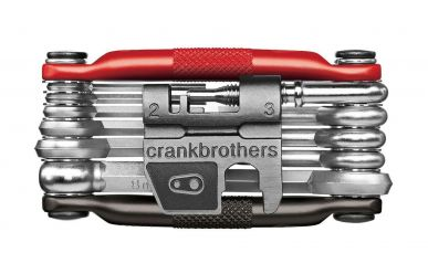 CrankBrothers Minitool 17 Multifunktionswerkzeug Black Red