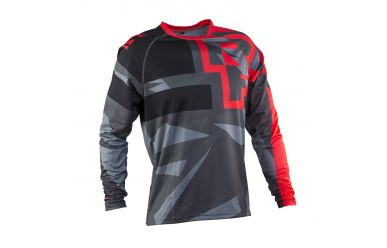 Race Face Ruxton Langarm Trikot Flame Black