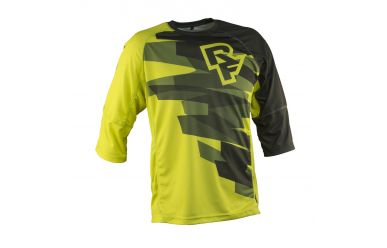 Race Face Indy 3/4 Arm Trikot Sulphur