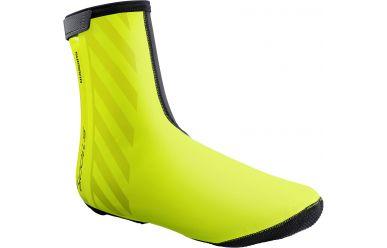 Shimano S1100R H2O Überschuh Atmungsaktiv, Wasserabweisend, Reflektierend, Neon Gelb