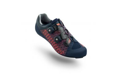 Suplest Edge3 Pro Rennradschuh, Double Boa, Carbon Sohle, Solestar Innensohle, Navy Coral