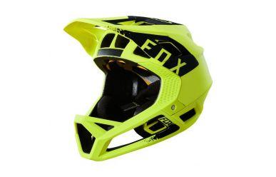 FoxHead PROFRAME MINK Helm Yellow Black, Men, S