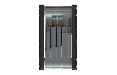 CrankBrothers Minitool f-10 Multifunktions-Werkzeug Black Silver