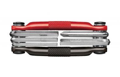 CrankBrothers Minitool 5 Multifunktionswerkzeug Black Red