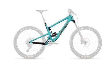 Santa Cruz Bronson 3 CC FS DLX RCT Frameset Industry Blue and Gold