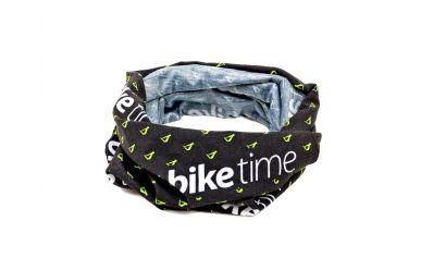 biketime Buff multifunktionaltes Hals-, Kopftuch Black Race Team Green