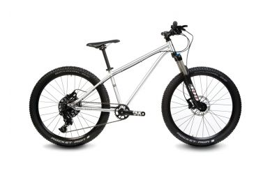 "Early Rider Hellion Trail Hardtail 24"" NX11 Brushed Aluminium"