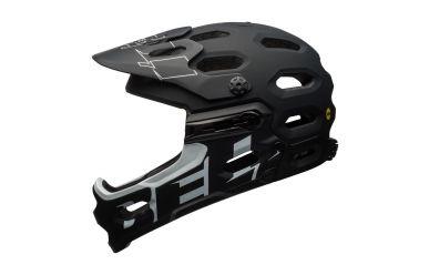 Bell Super 3R Mips Mat Gloss Black Grey