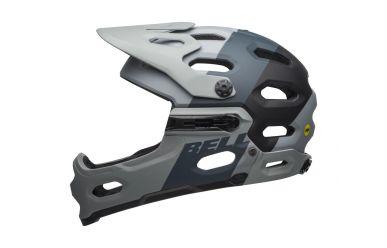 Bell Super 3R Mips Downdraft Mat Grey Gunmetal