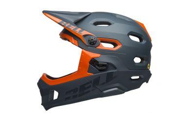 Bell Super DH Mips Matt Gloss Slate Orange
