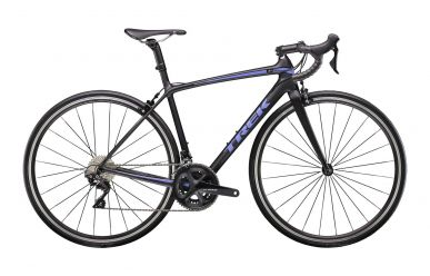 Trek Emonda SL 5 Womens Matte Trek Black Gloss Ultraviolet 50cm