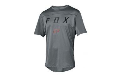 FoxHead Flexair SS Moth Jersey Grey Vintage L