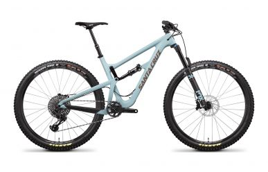 Santa Cruz Hightower LT C S-Kit Sram GX Eagle Sky Blue Gold M