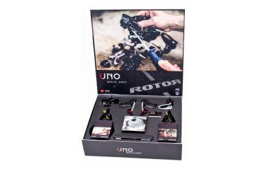 Rotor UNO 2x11 Disc Schaltgruppe Flatmount 11-28 Zähne 172,5mm Aldhu 50/34 Q-Rings