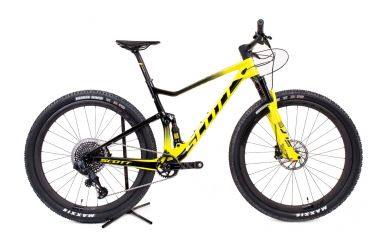 Scott Spark RC 900 World Cup AXS radium yellow black