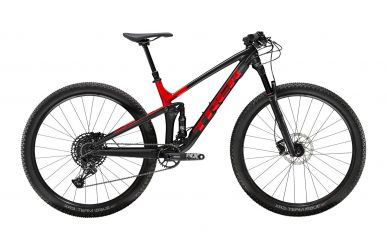 Trek Top Fuel 8 Sram NX Eagle Matte Trek Black Gloss Viper Red M Ausstellungsmodell