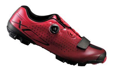 Shimano SH-XC7R MTB Schuh Schwarz Rot