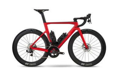 BMC TimeMachine Road TMR01 TWO Aero Bike Sram Red eTap Super Red