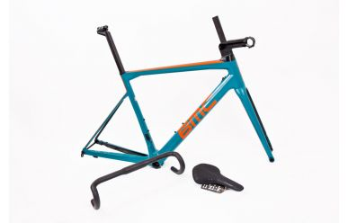 BMC Teammachine SLR01 Disc Module Frameset Aqua Green
