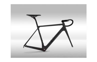 Factor O2 Frameset, Stealth Black