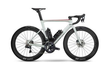 BMC TimeMachine Road TMR01 THREE Aero Bike Shimano Ultegra Di2 Off White