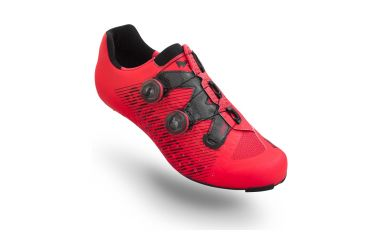 Suplest Edge3 Pro Double Boa Carbon Road Schuh neon red