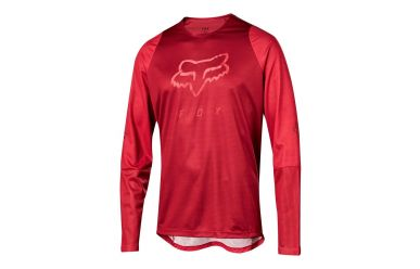 FoxHead Defend LS Foxhead Jersey Cardinal
