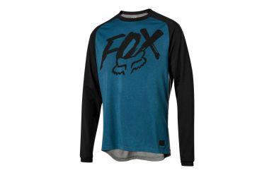 FoxHead Ranger Dri Release Fox LS Jersey Midnight