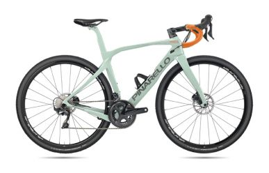Pinarello Grevil Ultegra DI2 Disc, Fulcrum Racing 700DB Laufräder, 506 Petrol Matt
