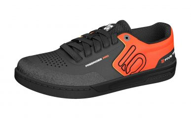 FiveTen Freerider Pro Mens Core Black Active Orange Grey Two