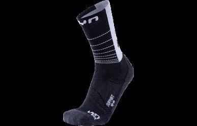 UYN Cycling Support Man Socks Black White
