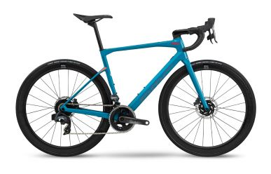BMC Roadmachine 01 THREE Sram Force AXS HRD, Petrol Blue