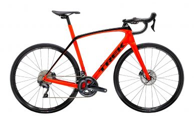 Trek Domane SL 6 Disc Shimano Ultegra Radioactive Red Trek Black