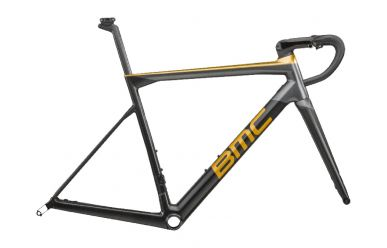 BMC Teammachine SLR01 DISC MOD Frameset , Carbon Gold