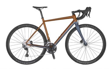 Scott Speedster Gravel 20 gingerbread brown dark blue