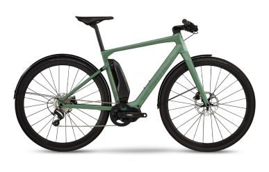 BMC Alpenchallenge AMP CITY LTD Shimano Metrea E8000, Fisher Green