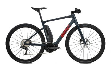 BMC Alpenchallenge AMP CROSS LTD Shimano XT Di2 E8000, Steel Blue